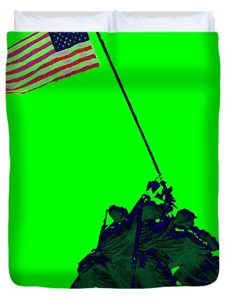 Iwo Jima 20130210p180 Duvet Cover by Wingsdomain Art and Photography
