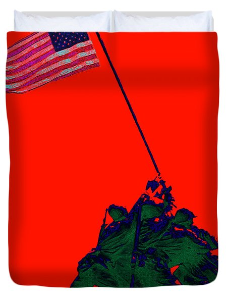 Iwo Jima 20130210p65 Duvet Cover by Wingsdomain Art and Photography