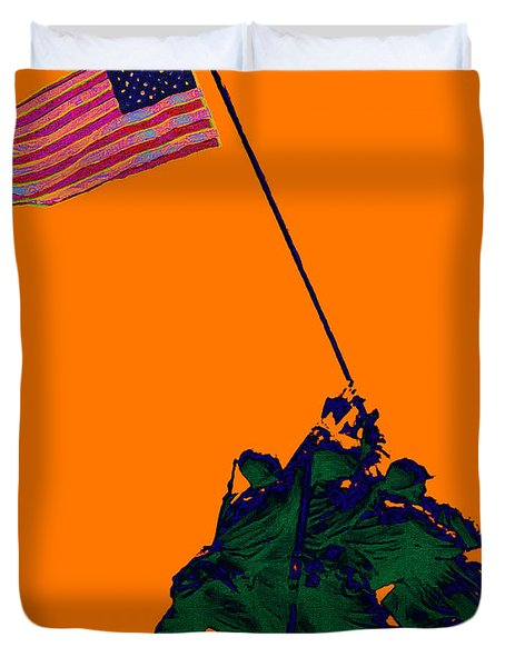 Iwo Jima 20130210p88 Duvet Cover by Wingsdomain Art and Photography