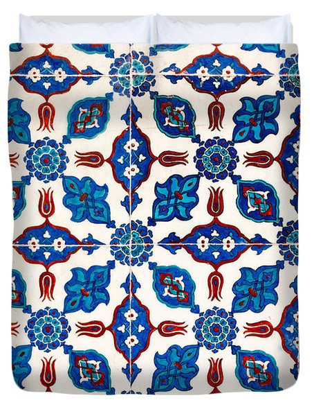 Iznik 14 Duvet Cover by Rick Piper Photography