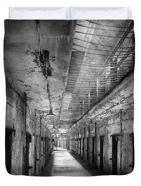 Jail - Eastern State Penitentiary - The Forgotten Ones  Duvet Cover by Mike Savad