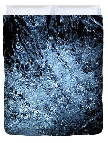 jammer Frozen Cosmos Duvet Cover by First Star Art
