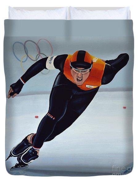 Jan Smeekens Duvet Cover by Paul Meijering