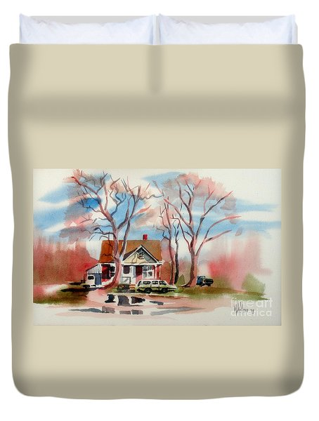 January Afternoon Duvet Cover by Kip DeVore