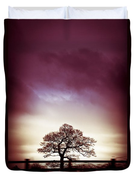 January Dusk Duvet Cover by Jan Bickerton