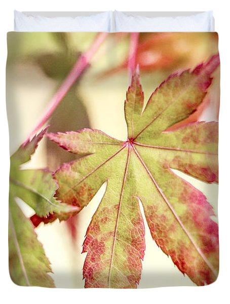 Japanese Maple Duvet Cover by Caitlyn  Grasso