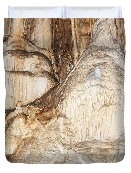 Javorice caves Duvet Cover by Michal Boubin