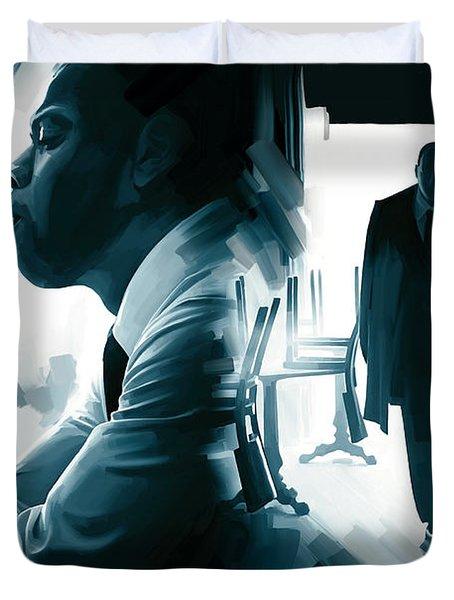 Jay-z Artwork 3 Duvet Cover by Sheraz A