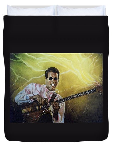 Jazz Duvet Cover by Emery Franklin
