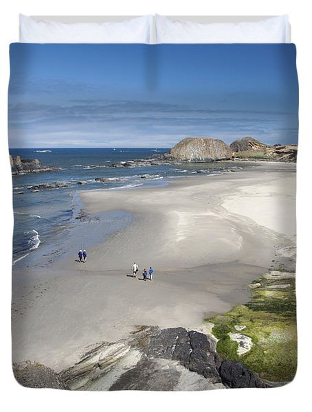 Jessie Honeyman Memorial State Park Duvet Cover by Peter French