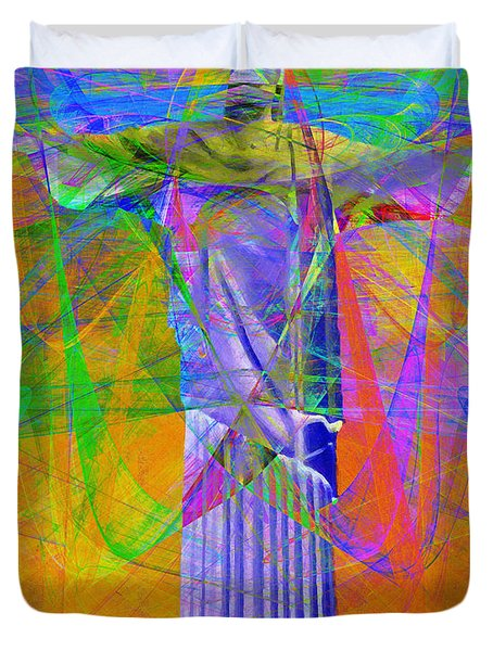 Jesus Christ Superstar 20130617 Duvet Cover by Wingsdomain Art and Photography