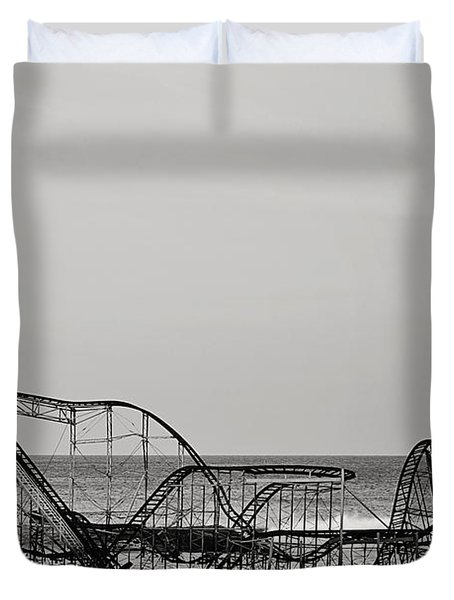 Jet Star  Duvet Cover by Terry DeLuco
