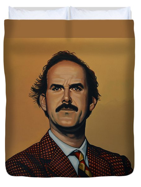 John Cleese Duvet Cover by Paul Meijering