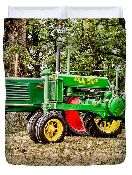 John Deere 1935 General Purpose Tractor With Oliver Row