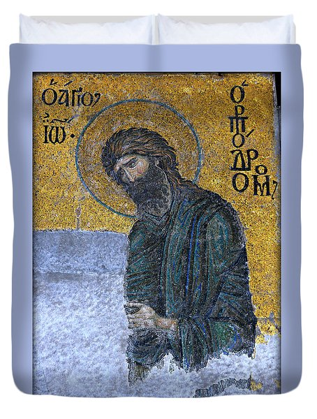 John The Baptist Duvet Cover by Stephen Stookey