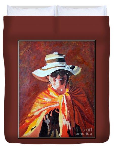 Jolanta By Sharon Burger Duvet Cover by Jolanta Anna Karolska