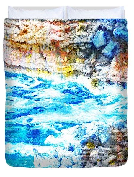 Jordan 08 Duvet Cover by Catf