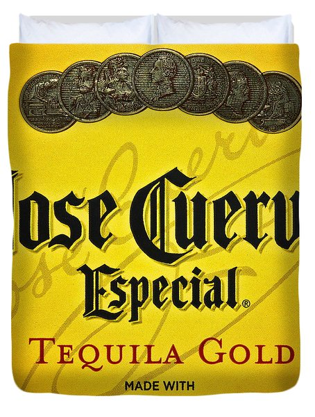 Jose Cuervo Tequila Art Duvet Cover by Frozen in Time Fine Art Photography