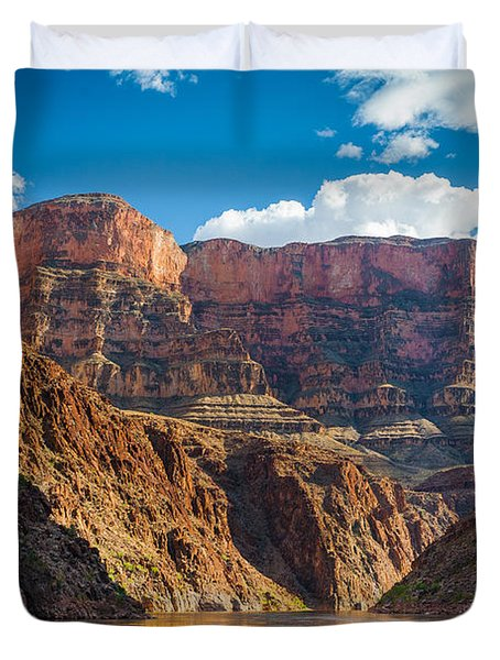 Journey Through The Grand Canyon Duvet Cover by Inge Johnsson