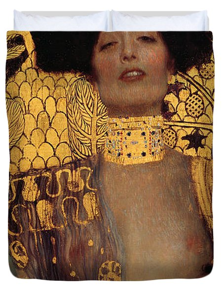 Judith Duvet Cover by Gustive Klimt