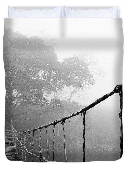 Jungle Journey 5 Duvet Cover by Skip Nall