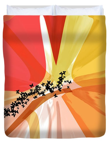 Just a Phase Duvet Cover by Diana Angstadt