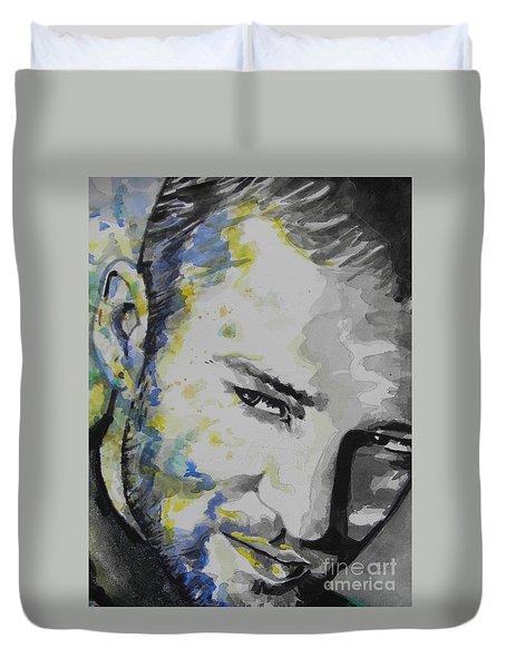 Justin Timberlake...02 Duvet Cover by Chrisann Ellis
