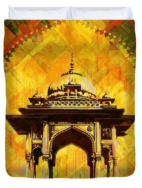 Kamran's baradari Duvet Cover by Catf