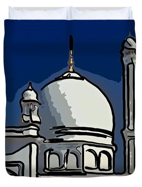 Kashmir Mosque 2 Duvet Cover by Steve Harrington
