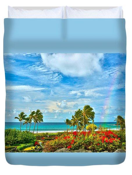 Kauai Bliss Duvet Cover by Marie Hicks
