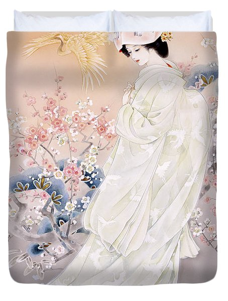 Kihaku Duvet Cover by Haruyo Morita