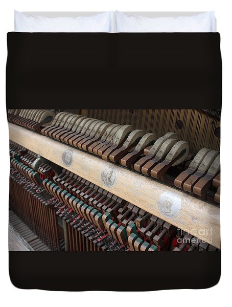 Kimball Piano-3471 Duvet Cover by Gary Gingrich Galleries