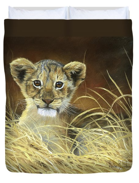 King To Be Duvet Cover by Lucie Bilodeau