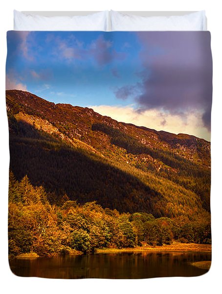 Kingdom Of Nature. Scotland Duvet Cover by Jenny Rainbow