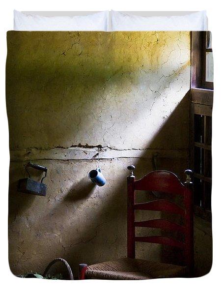 Kitchen Corner Duvet Cover by Dave Bowman