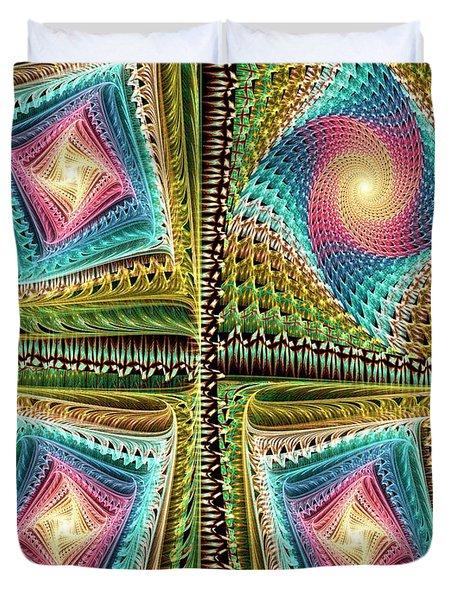 Knitting Duvet Cover by Anastasiya Malakhova