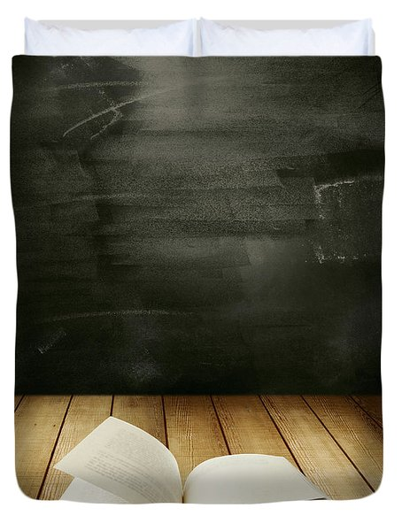 Knowledge Duvet Cover by Les Cunliffe