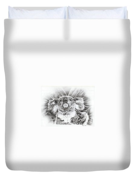 Koala Roto Princess Duvet Cover by Remrov