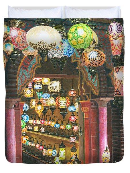 La Lampareria Albacin Granada Duvet Cover by Richard Harpum