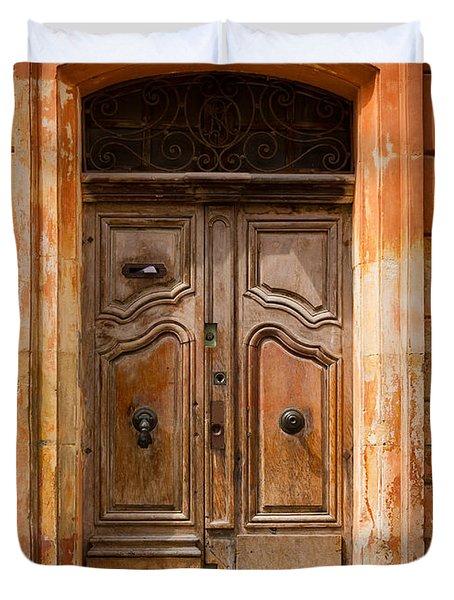 La Vieille Porte Duvet Cover by Inge Johnsson