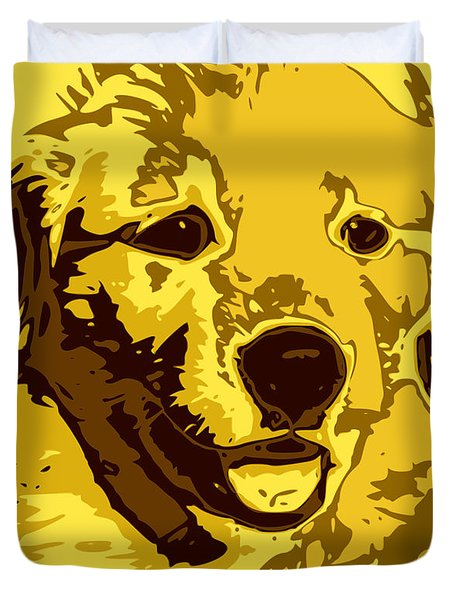 Labrador Duvet Cover by Chris Butler