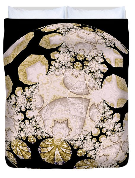 Lace Duvet Cover by Elizabeth McTaggart