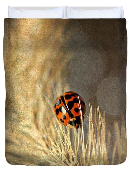 Ladybird Duvet Cover by Darren Fisher