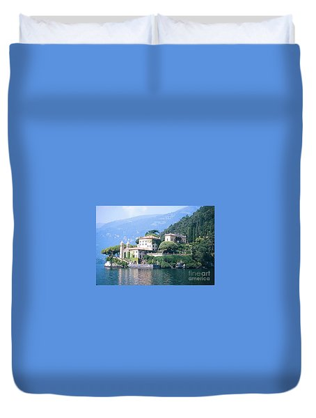 Lake Como Palace Duvet Cover by Greta Corens