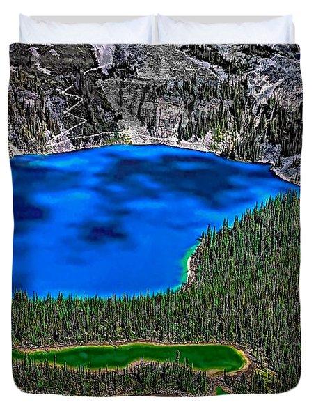Lake O'hara Duvet Cover by Steve Harrington