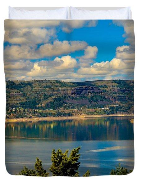 Lake Roosevelt Duvet Cover by Robert Bales