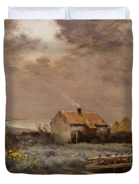 Landscape Duvet Cover by Jean Charles Cazin