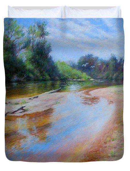 Landscape Duvet Cover by Nancy Stutes