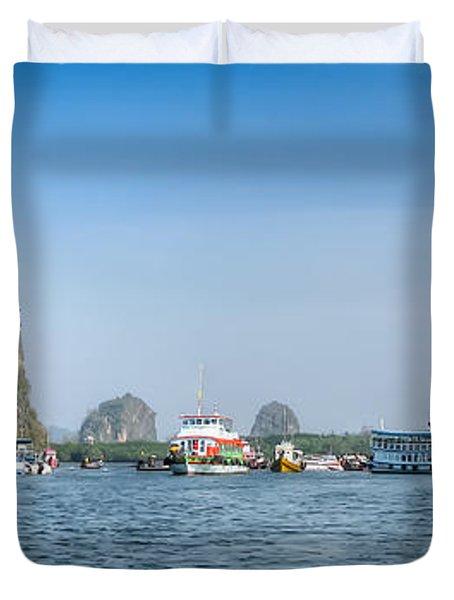 Lanta Island Dock Duvet Cover by Adrian Evans