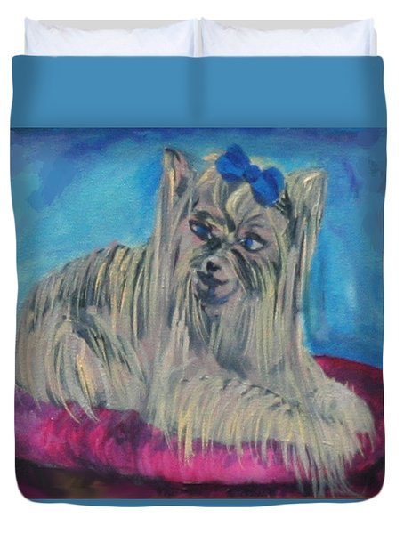 Lap Of Luxury Duvet Cover by Gail Daley